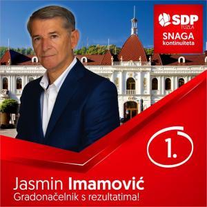 Jasmin Imamović - kandidat za Gradonačelnika
