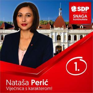 Natasa Perić - nositeljica liste za Gradsko vijeće Tuzla